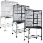 """64"""" Inch Large Parrot Bird Cockatiel Parakeet Finch Cage Gym Perch Stand 3 Color"""