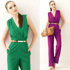 Stunning Women Sleeveless Long Pants Hobo Casual Evening Jumper Jumpsuit Romper