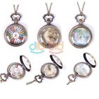1PCS Man Women Retro Quartz Chain Pendant Pocket Watch