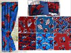 CUSTOM MADE - SPIDERMAN - WINDOW CURTAINS DRAPES - MULTIPLE PRINTS