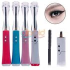 Portable Eye Electric Heated Eyelash Extension Brush Pen Eyelash Curler SSUS