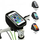 Bike Bicycle New PU Handlebar Bag Touch Case For Samsung S3/4 HTC iphone 4/5/5S