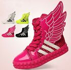 Cool Kids Boys Girls Casual Wings PU Mesh Sports Shoes Toddler Madden Boots
