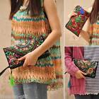 Women Bag Handbag Purse National Retro Embroidered Phone Change Coin New M2660