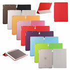 Ultra Slim Magnetic iPad Smart Cover + Matte Back Cover Case + Screen Protector