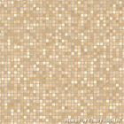 CHEAP Beige & White Vinyl Flooring, Modern Mosaic Effect Vinyl, Kitchen Bathroom