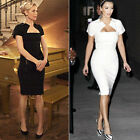 Celebrity New Womens OL Formal Business Bodycon Cocktail Party Pencil Midi Dress