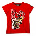 Official Marc Marquez 93 Cartoon Ant Kids Childs T-Shirt in Red