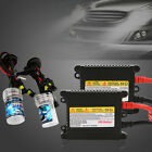Xenon HID Light Kit Slim Ballast H1 H3 H4 H7 H9 H8 For 9005 6000K/8000K 35W/55W