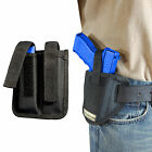 New Barsony Ambi Pancake Holster + Dbl Mag Pouch Steyr Walther Full Size 9mm 40