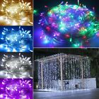 New Mains Powered 30/50m 300/400 LED Fairy String Xmas Lights Indoor/Outdoor UK