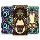 HEAD CASE DESIGNS AZTEC ANIMAL FACES 1 CASE COVER FOR SONY XPERIA Z2 D6503
