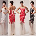 2014 Sexy Mermaid Long Bridesmaid Ball Gown Wedding Evening Prom Party Dress JS