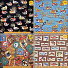 "RJR SPORTS FISH DUCKS ""CABIN COUNTRY/ TAKE THE BAIT""  FABRICS (MAKE A SELECTION)"