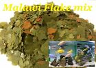 AQUARIUM TROPICAL FISH,MBUNA,CICHLID,MALAWI~SPIRULINA,VEG,ALGAE MIX FLAKE FOOD
