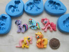 1 x Sugarcraft/FIMO Mould: DEEP My Little Pony / MLP (Horse) 4th Gen Ponies