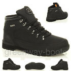 MENS GROUNDWORK LEATHER SAFETY STEEL TOE CAP BOOTS WORK SHOES TRAINER UK SIZE 10