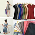 Fashion Women Cotton Casual Short Sleeve Summer Sundress Mini Dress Tops 6 Color