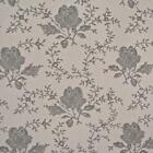 DUSTY BEIGE - TOILE ROSE - FLORAL 100% COTTON FABRIC patchwork CRAFT FASHION