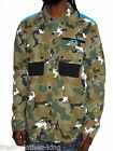 LRG Lifted Research Group Button Up Shirt New $79 Camo Green Eyes Choose Size