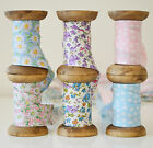 Patterned Floral 25mm Cotton Bias Binding Tape Vintage Shabby Chic Style Bunting