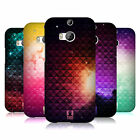 HEAD CASE DESIGNS PRINTED STUDDED OMBRE CASE COVER FOR HTC ONE M8