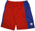 Zipway NBA Basketball Men's Philadelphia 76ers Team Colors Shorts, Red / Blue