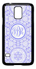 Personalized Monogram Floral Lace for Samsung Galaxy S3 S4 S5 Note 2 3 M230