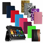 2013 Amazon Kindle Fire HDX 8.9 inch PU Leather Stand Case Cover Wake/Sleep