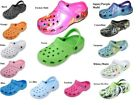 WOMENS CLOGS SHOES TIE DYE  GARDEN WATER SHOES ASSORTED  COLORS  6 7 8 9 10 11