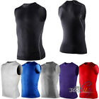 Men's Compression Sleeveless Sports Shirts Base Under Layer Tights Skin Tank Top