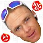 CHRIS FROOME - BIG Face Mask A3/A4 SIZE COMMONWEALTH GAMES CYCLING WIGGINS