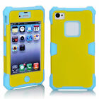Big Sale Hot PCDirtproof Shockproof Pretty Durable Case Cover For iPhone 4 4S 9C