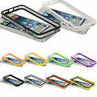 For Apple iPhone 5 5S 38 Color TPU Silicone Bumper W/Side Button Frame Case Skin