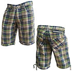 Mish Mash 2135 Rick Shaw Check Mens Shorts Sizes 28 30 32 36 38 40 WAS £59.99