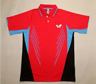 Free shipping 2014 NWT Table Tennis butterfly men's Shirt PING PONG CLOTHES