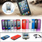 Waterproof Shockproof Heavy Duty Dirt Snow Resistant Case Cover For iPhone 5 5S