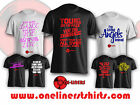 Song Lyrics or TV and Film Qoutes - Printed T-Shirts