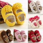 New Soft Bottom Kid Sandals Infant Girls Toddler baby shoes size 0-18 months C