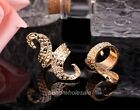 1X  Unisex Ring European Style Antique Big Ring Bronze/Golden To Choose