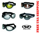 GLOBAL VISION ELIMINATOR GOGGLES WITH FREE POUCH AND YOUR CHOICE OF LENS