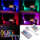 5/10M 5050 SMD RGB 300 LED Waterproof Flexible Strip Lighting12V+Receiver+Remote