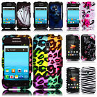 For Samsung Galaxy Rush M830 Boost Mobile Design Hard Case Snap On Cover Phone
