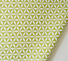 Michael Miller Fabric Rustique FQ Fat Quarter / F8th Christmas Shark Tooth Green