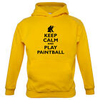 Keep Calm and Play Paintball - Kids / Childrens Hoodie - Paint Ball - 7 Colours