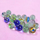 New 10/20 Mixed 16mm Glass Marbles Traditional Game Or Collectors Toy HOM Decor