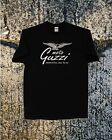 "MOTO GUZZI ""BIG G""  BLACK TEE  Long or Short Sleeve"