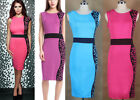 2014 New Sexy Women Solid Clubwear Cocktail Party Bodycon Pencil Dresses
