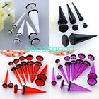 2x Punk Fake 6g-00g Cheater Ear Expander Stretcher Taper Plugs Stretching Tunnel