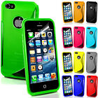 TPU Soft Rubber Gel S Line Fitted Silicone Case Cover For Apple iPhone 5 5s